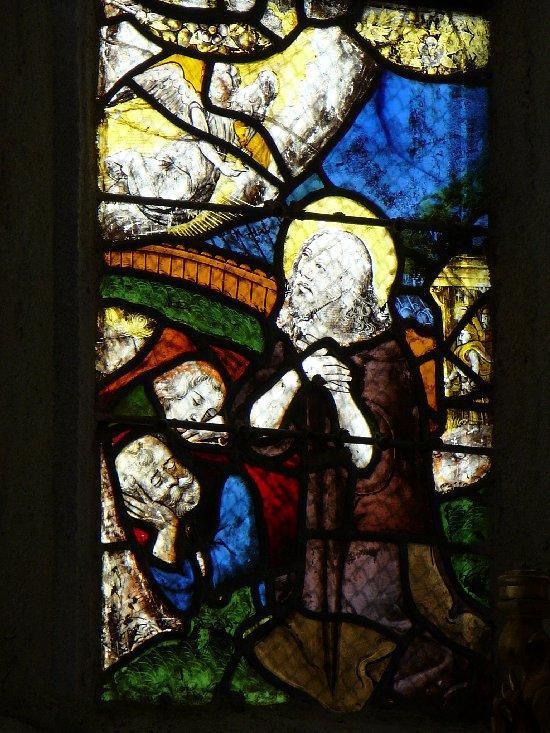 Photos de vitraux j sus au jardin des oliviers for Au jardin des oliviers