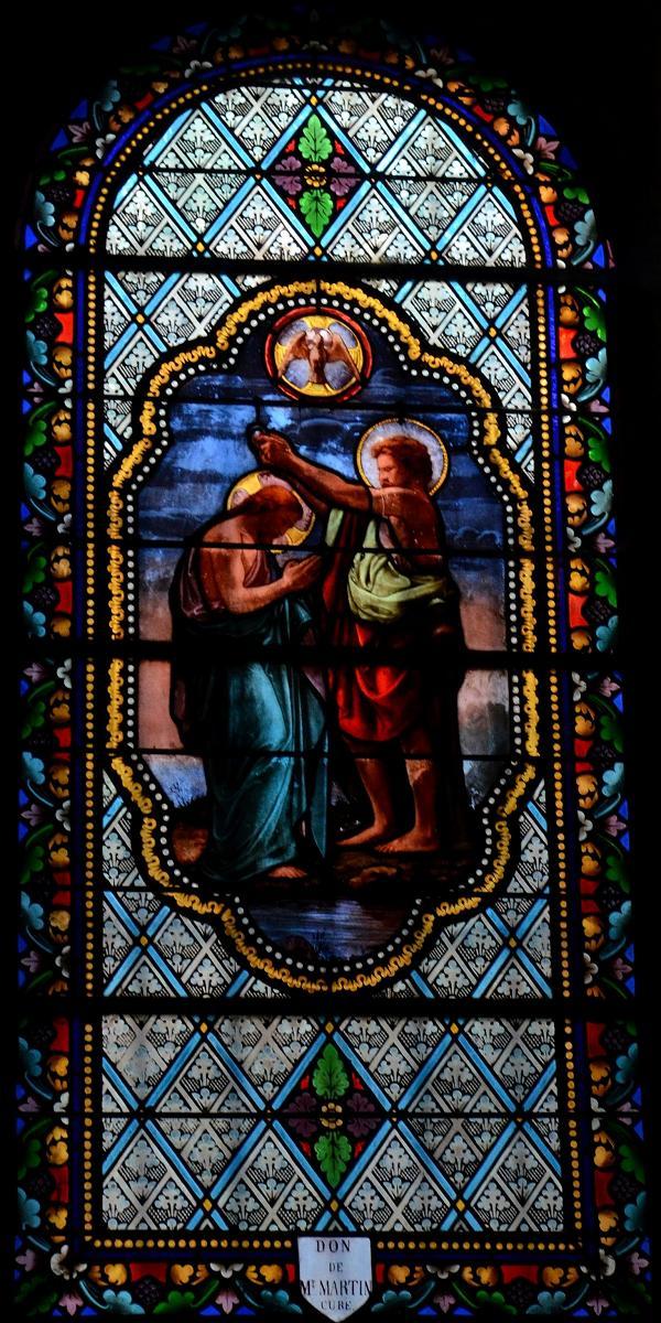 Photos de vitraux abbaye saint andr lavaudieu for Andre caplet le miroir de jesus