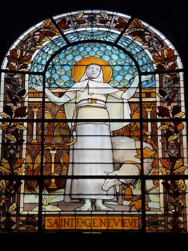 Photos de vitraux sainte genevi ve - Piscine sainte genevieve ...