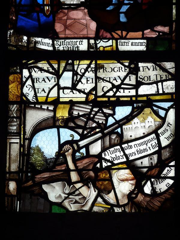 Photos de vitraux adam et ve chass s d 39 den - Saint maclou chartres ...