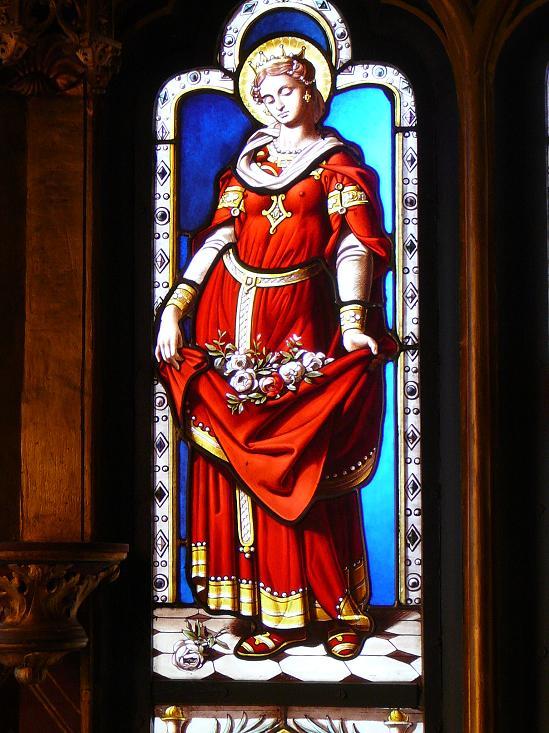 ICONOGRAPHIE CHRÉTIENNE: Sainte ÉLISABETH de HONGRIE, veuve et tertiaire  franciscaine